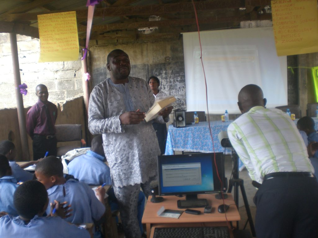Career Day at Ikosi Senior School