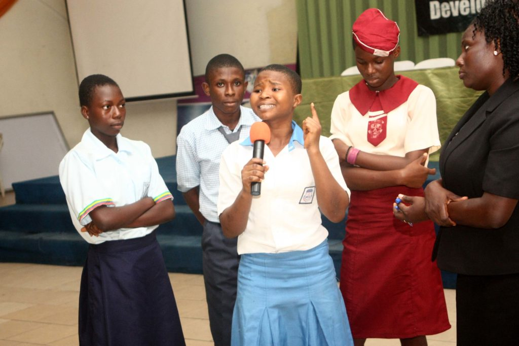 Students Participating at DoTheDream Leadership Programme