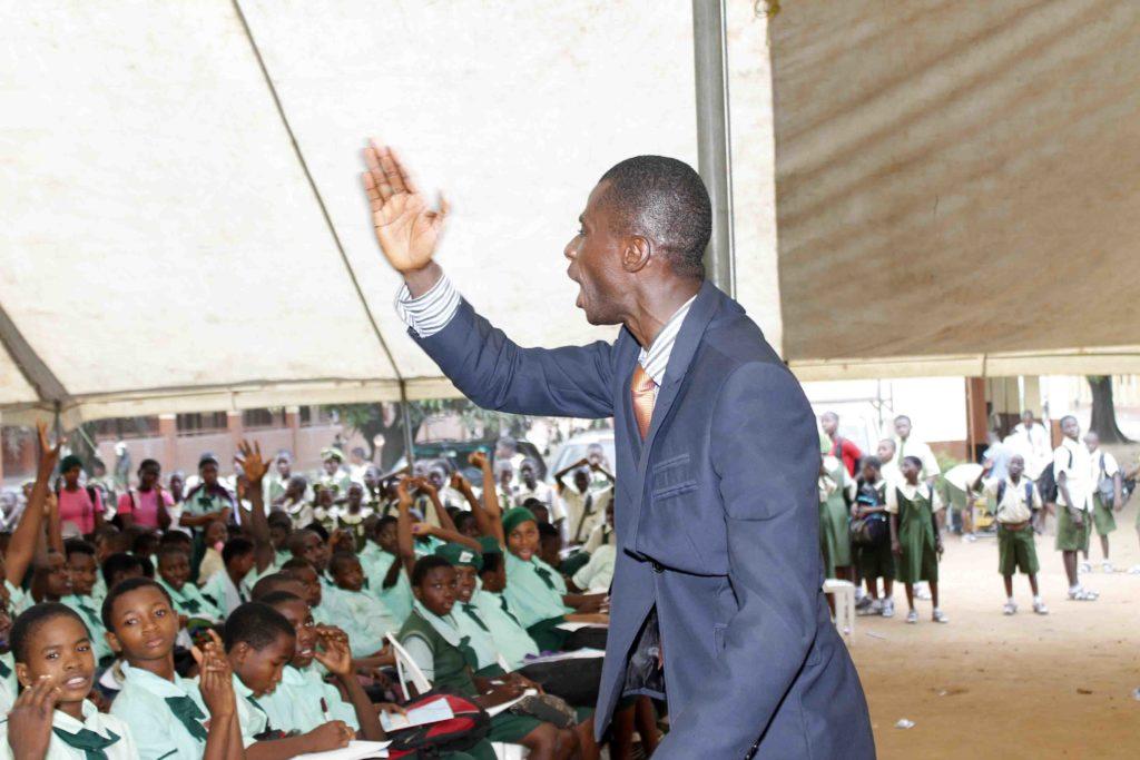 Olutayo Olumadewa at Ilupeju High School