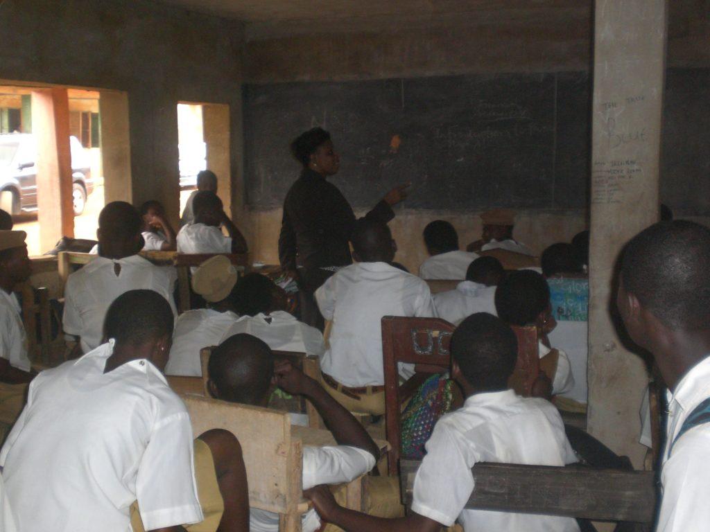 Jospehine Akenuwa Teaching