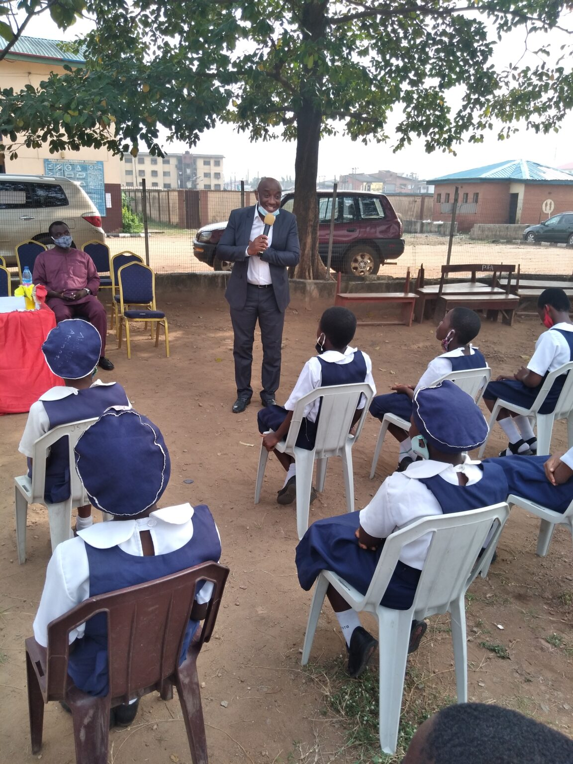 Tunde Elesin Teaching Character matters